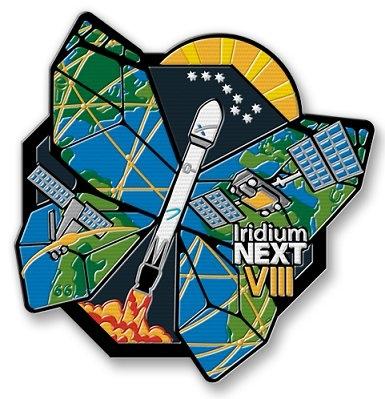 Эмблема миссии от Iridium