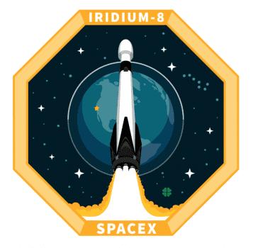 Эмблема миссии от SpaceX
